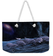 Topsail Starry Night  Weekender Tote Bag by Betsy Knapp