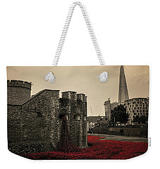 Tower Of London Weekender Tote Bag by Martin Newman