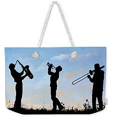 tre Weekender Tote Bag by Guido Borelli
