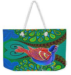 Tree Sparrow Weekender Tote Bag by Jane Tattersfield