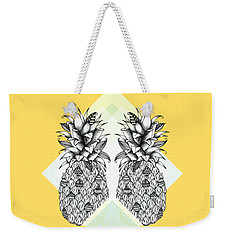 Tropical Weekender Tote Bag by Barlena Illustrations