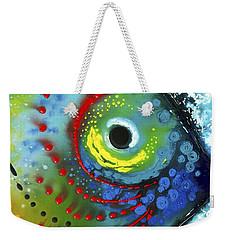 Tropical Fish Weekender Tote Bag by Sharon Cummings