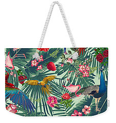 Tropical Fun Time  Weekender Tote Bag by Mark Ashkenazi