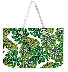 Tropical Haven  Weekender Tote Bag by Mark Ashkenazi