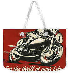 Tt Races 1961 Weekender Tote Bag by Georgia Fowler