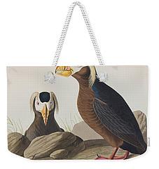 Tufted Auk Weekender Tote Bag by John James Audubon