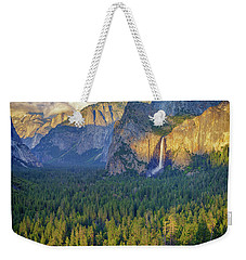 Tunnel View At Sunset Weekender Tote Bag by Rick Berk