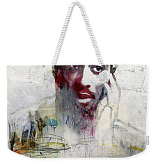 Tupac Graffitti 2656 Weekender Tote Bag by Jani Heinonen