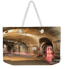 Underground Tunnels In Guanajuato, Mexico Weekender Tote Bag by Juli Scalzi