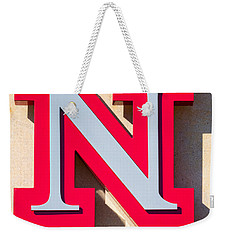 UNL Weekender Tote Bag by Jerry Fornarotto