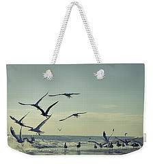Up Up And Away Weekender Tote Bag by Laura Fasulo