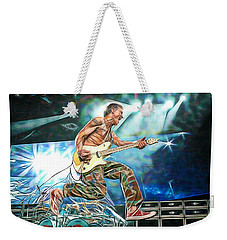 Van Halen Eddie Van Halen Collection Weekender Tote Bag by Marvin Blaine