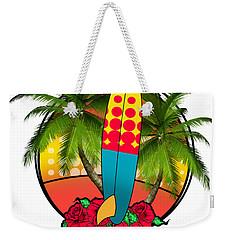 Venice Beach Weekender Tote Bag by Mark Ashkenazi