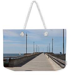 Venice Beach Pier Weekender Tote Bag by Ana V Ramirez