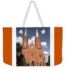 Very Old Church In Odrzywol, Poland Weekender Tote Bag by Arletta Cwalina