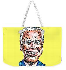 Vice President Joe Biden Weekender Tote Bag by Robert Yaeger
