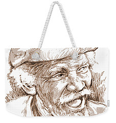 Victor Boa Weekender Tote Bag by Greg Joens