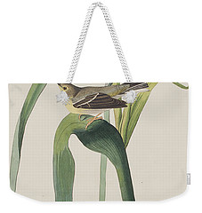 Vigor's Warbler Weekender Tote Bag by John James Audubon