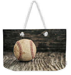 Vintage Baseball Weekender Tote Bag by Terry DeLuco
