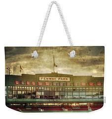 Vintage Fenway Park - Boston Weekender Tote Bag by Joann Vitali
