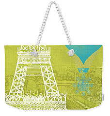 Viva La Paris Weekender Tote Bag by Mindy Sommers