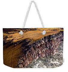 Weekender Tote Bag featuring the photograph Volcanic Ridge II by M G Whittingham
