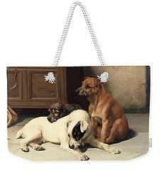 Waiting For Master Weekender Tote Bag by William Henry Hamilton Trood