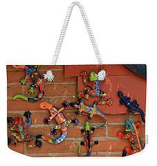 Wall Crawlers Weekender Tote Bag by Allen Beatty