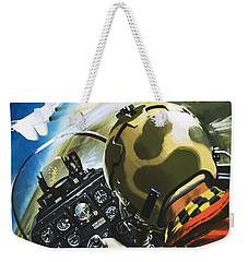 War In The Air Weekender Tote Bag by Wilf Hardy
