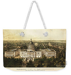 Washington City 1857 Weekender Tote Bag by Jon Neidert