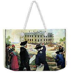 Washington D C Vintage Travel 1932 Weekender Tote Bag by Daniel Hagerman