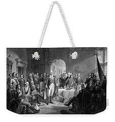 Washington Meeting His Generals Weekender Tote Bag by War Is Hell Store