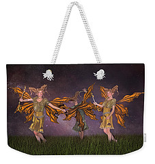 Watching Over You Weekender Tote Bag by Betsy Knapp