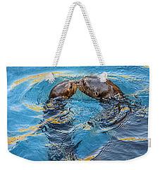 Water Kisses Weekender Tote Bag by Jamie Pham