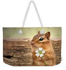 Welcome Spring Weekender Tote Bag by Lori Deiter