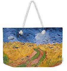 Wheatfield With Crows Weekender Tote Bag by Vincent van Gogh