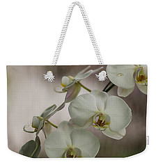 White Of The Evening Weekender Tote Bag by Mike Reid