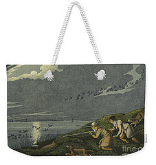 Wild Fowl Shooting Weekender Tote Bag by Henry Thomas Alken
