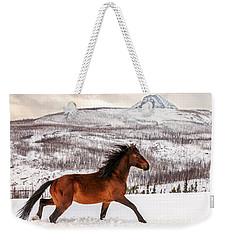 Wild Horse Weekender Tote Bag by Todd Klassy