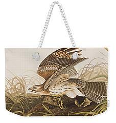 Winter Hawk Weekender Tote Bag by John James Audubon