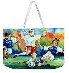 Women Weekender Tote Bag by Hanne Lore Koehler