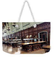 Woodwork Weekender Tote Bag by Joseph Yarbrough
