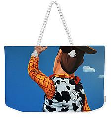 Woody Of Toy Story Weekender Tote Bag by Paul Meijering
