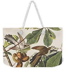 Yellow Billed Cuckoo Weekender Tote Bag by John James Audubon