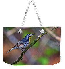 Yellow-throated Warbler Weekender Tote Bag by Rick Berk