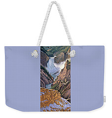 Yellowstone Canyon-osprey Weekender Tote Bag by Paul Krapf