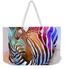 Zebra Dreams Weekender Tote Bag by Galen Hazelhofer