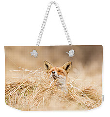 Zen Fox Series - Zen Fox 2.7 Weekender Tote Bag by Roeselien Raimond