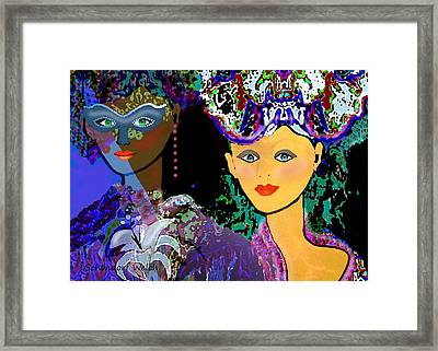 083 - The Colours Of A Summer Night    Framed Print by Irmgard Schoendorf Welch