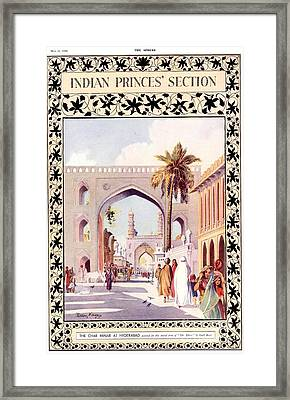 1890s Uk Indian India Empire Framed Print by The Advertising Archives